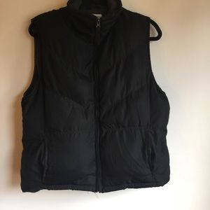 BURRY LANE FOR WOMEN BLACK PUFFER VEST SIZE LARGE